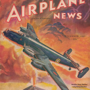 1941 - Model Airplane News magazine - December