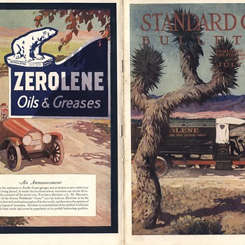 Standard Oil Bulletin July 1916 Magazine Maynard Dixon - Paper