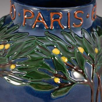 Max Läuger / La Maison Moderne - Paris Expo 1900 Vase - Art Nouveau