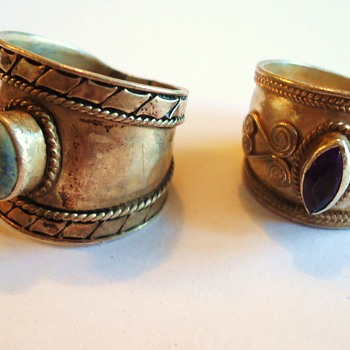 Two tribal rings? from?  And other rings!