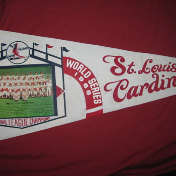 1968 STL Cardinals National League Champions Pennant - Baseball