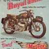 1954 Royal Enfield Motorcycle Advertisement