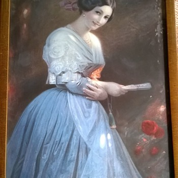 Old Framed Print, Thrift Shop Find $2.50 - Visual Art