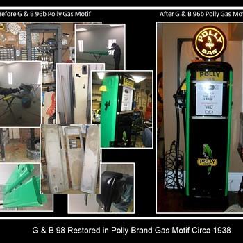 My restored gas pumps part 2