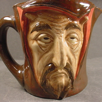 Doulton Mephistopheles jug, a study in human nature