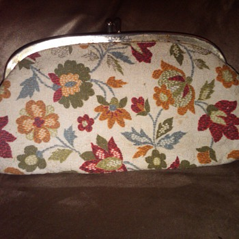 Flower Design Ladies Clutch - Bags