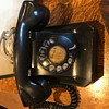 Old metal phone I bought for fifty cents.