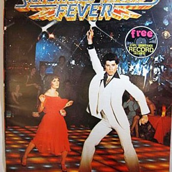 Saturday Night Fever 15 Page  Book With Record, 1977 - Books