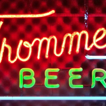 Trommer's Beer neon sign - Signs
