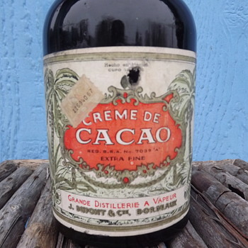 My Favorite Cream De Cacao Bottle - Bottles