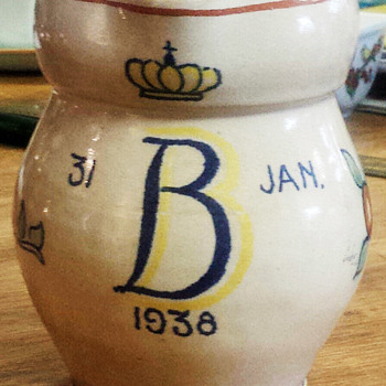 Queen Beatrix of the Netherlands 1938 Pitcher