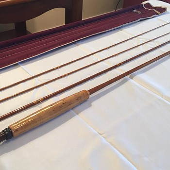 HEDDON EXPERT #125 Split Bamboo Fly Fishing Rod from 1948-1952 - New Old Stock! - Fishing