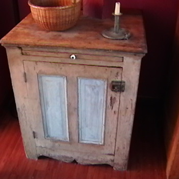 late 1800's early 1900's Kitchen Work Cabinet - Furniture