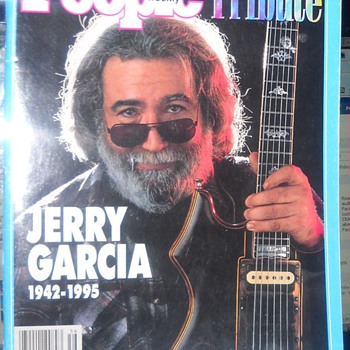 People Magazine Special Tribute to Jerry Garcia Sept/Oct &#039;95 - Music