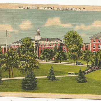 The Walter Reed Hospital. Washington D.C. - Postcards