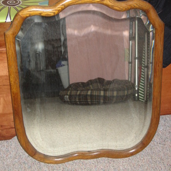 Another Oak Framed mirror