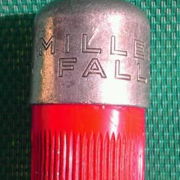 Miller Falls automatic push drill- Pat.# 170
