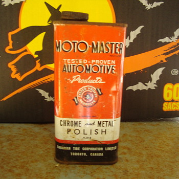 moto master   chrome   polish - Petroliana