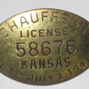 Chauffeurs license