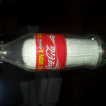 coca cola prize. came from a vending machine 12 years ago - Coca-Cola