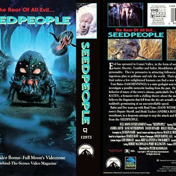 "VERY COLLECTIBLE IN VHS, CHEESY HORROR MOVIES, WIH GOD AWFUL COVERS ! ""THE SEED PEOPLE"" IS ONE! - Movies"