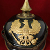 Prussian Enlisted spiked helmet dated 1915