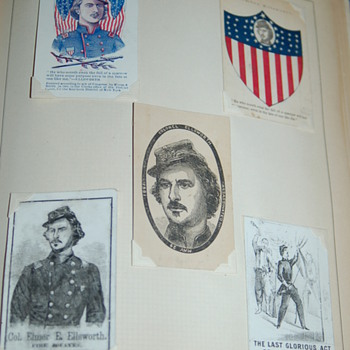 Civil War Patriotic Cards - Paper