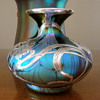 My fav Loetz Medici Silver overlay  vase.