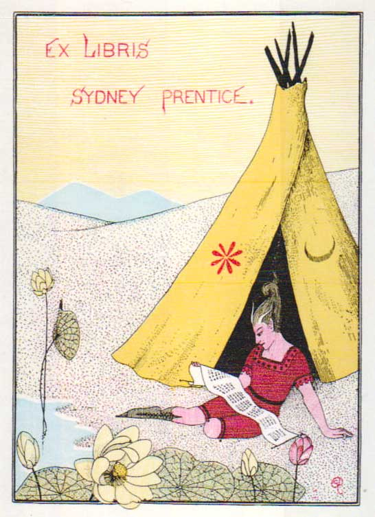 A design for Sydney Prentice featuring a teepee.