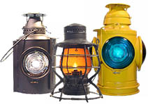 railroadiana lanterns and lamps