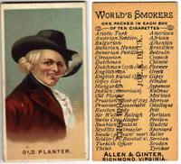 old planter world smokers
