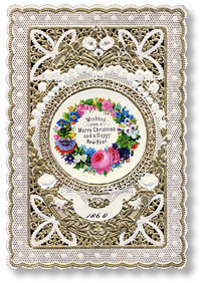 Lace Paper Victorian Greeting Card Interview