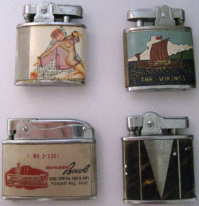 collecting vintage cigarette lighters collectors weekly. Black Bedroom Furniture Sets. Home Design Ideas