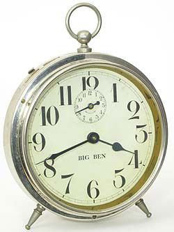 Early form of dial, clock does not say