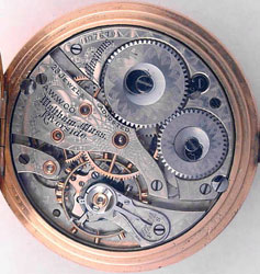 16 size, 23 jewel Waltham Model #1899 movement