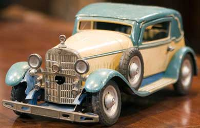 Collecting Toy Cars, from Diecast Chevys to Lithographed Tin