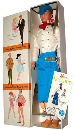 Dressed Box Ken in Holland #0777 1963-1965