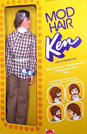 Mod Hair Ken #4224 1972