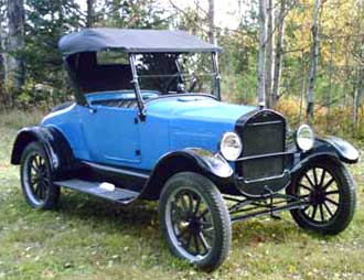 1926 Roadsster belonging to Bill Tuomi of Ladysmith, BC, Canada