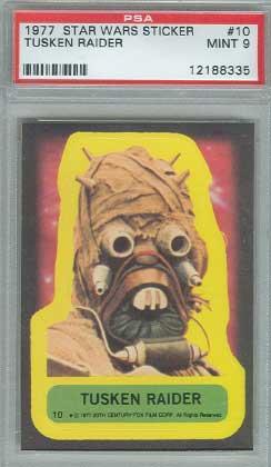 1977 Tusken Raider card