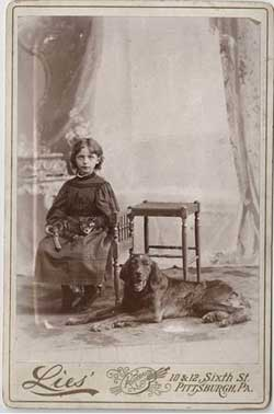 Cabinet Card by Lies' of Pittsburgh, PA