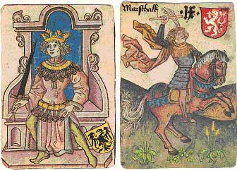 Deck issued in 1976 by Piatnik of Austria