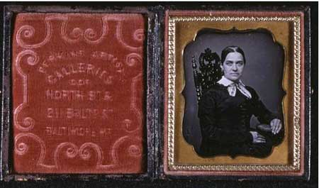 Daguerreotype from Perkins Artist Galleries in Baltimore, MD