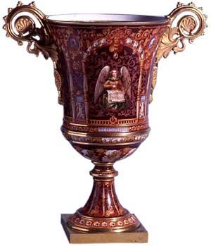 Vase by Sevres Porcelain c. 1836 - Hard-paste porcelain, Enamel, Gilt