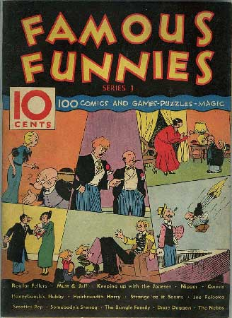 Famous Funnies Series 1, #1 - 1934