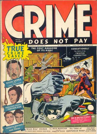 Crime Does Not Pay #22