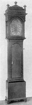 Clock by Joseph Wills: Wills worked in Willistown, Chester County, and Philadelphia.