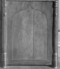 Detail Showing Relation to Phyfe Cabinet Workmanship