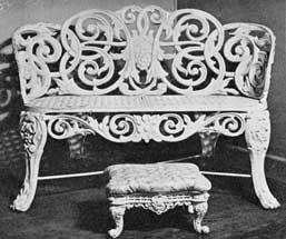 American Cast-Iron Furniture