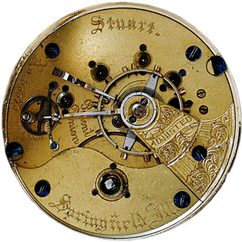 Illinois Watch Co. Stuart 5th Pinion movement